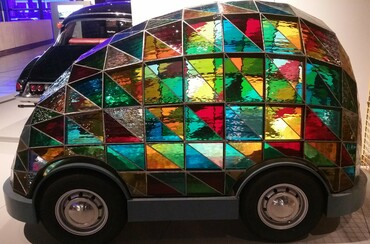 Wilcox, Dominic - Stained Glass car.jpg