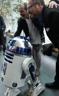 With R2D2's Creator